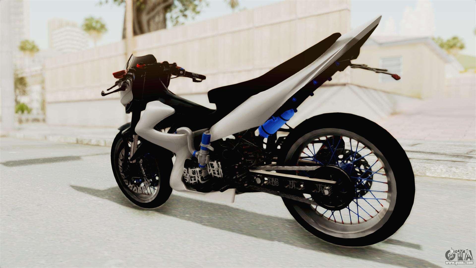 Suzuki Satria Fu 150 Highmodif For Gta San Andreas