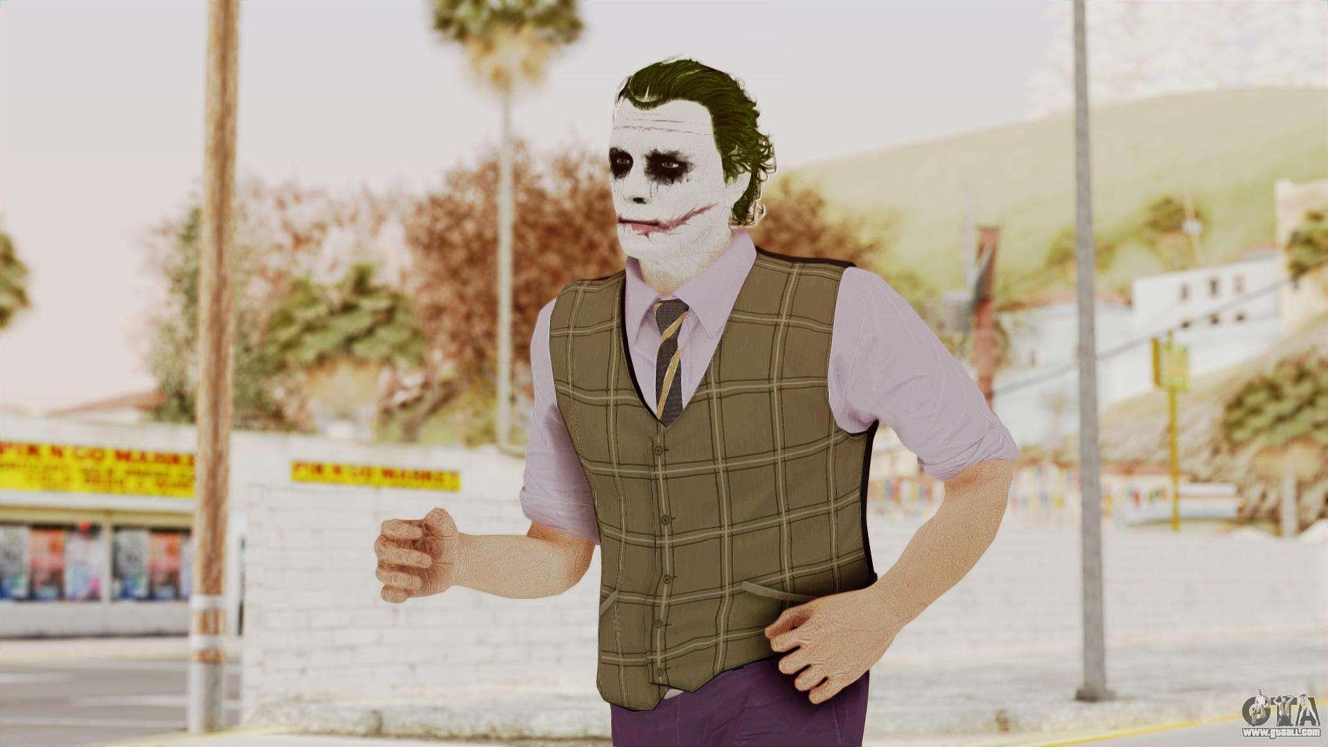 Joker Skin for GTA San Andreas