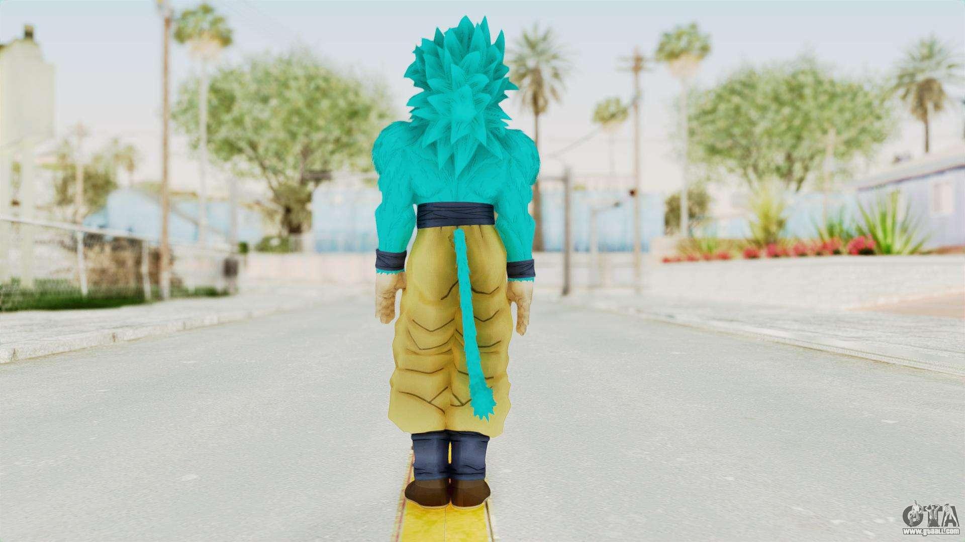 Dragon Ball Xenoverse Goku SSJ4 SSGSS for GTA San Andreas third screenshot & Dragon Ball Xenoverse Goku SSJ4 SSGSS for GTA San Andreas