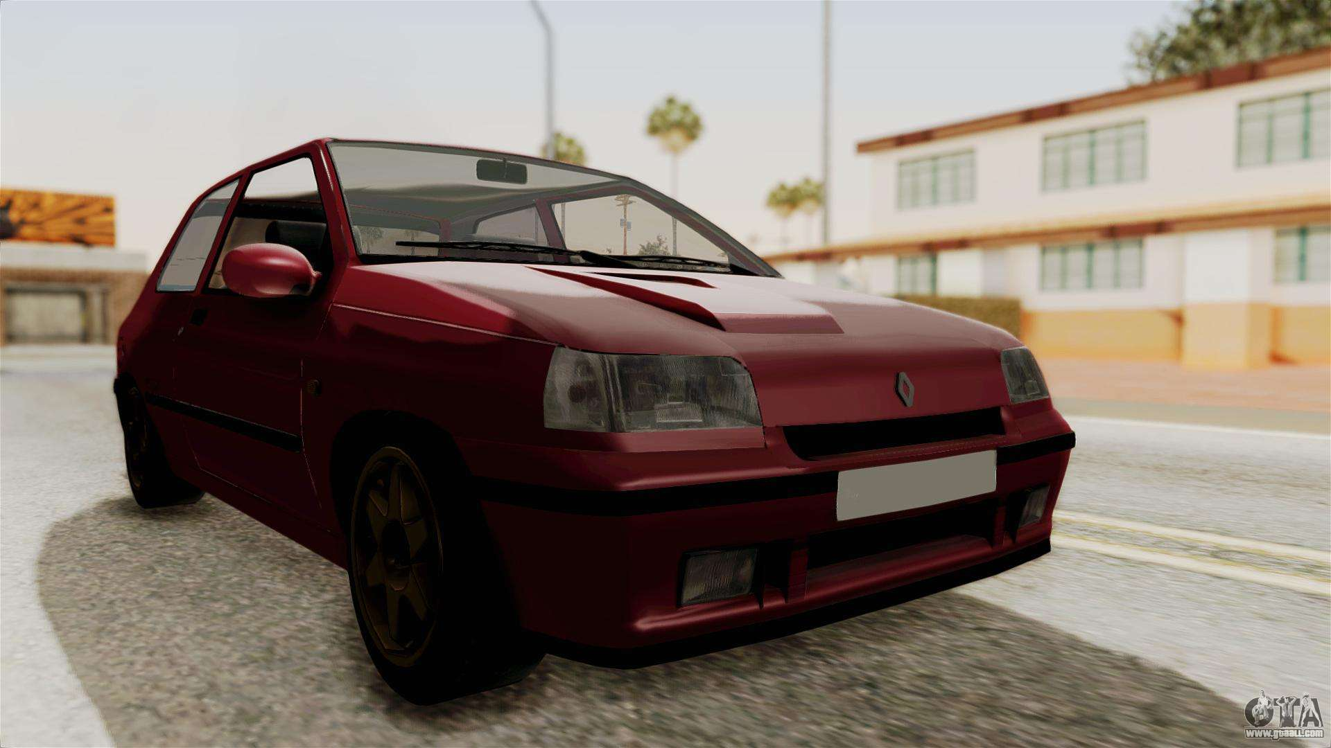 renault clio williams for gta san andreas. Black Bedroom Furniture Sets. Home Design Ideas