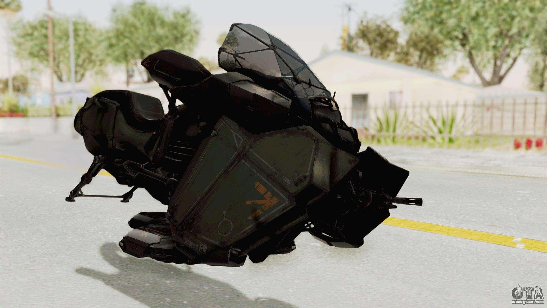 CoD Advanced Warfare - Hover Bike for GTA San Andreas