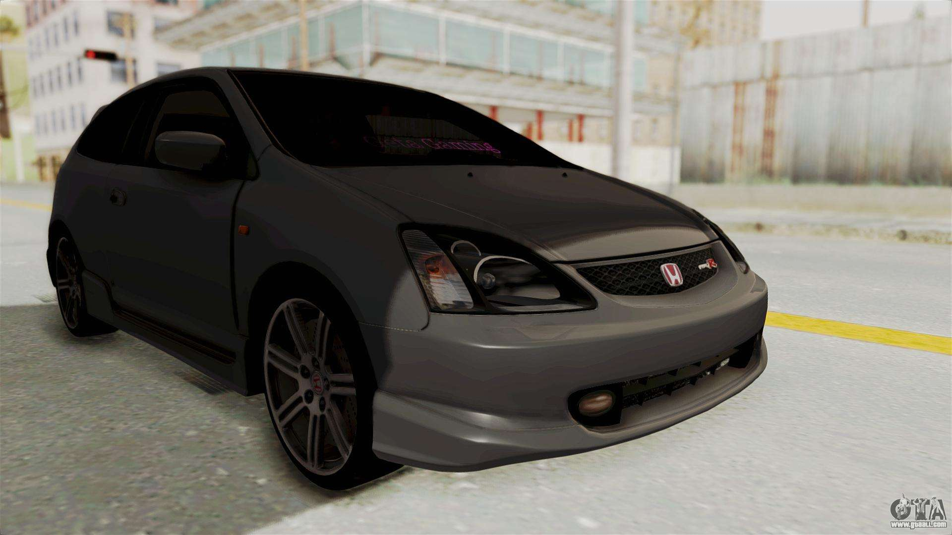 Honda Civic Type R Ep3 For Gta San Andreas  Black Bedroom Furniture Sets  Home Design Ideas