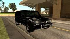 Mercedes G63 Biturbo for GTA San Andreas