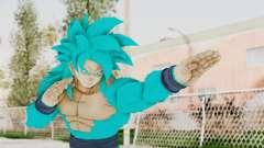 Dragon Ball Xenoverse Goku SSJ4 SSGSS