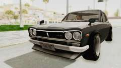 Nissan Skyline KPGC10 1971 Camber for GTA San Andreas