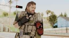 MGSV The Phantom Pain Venom Snake No Eyepatch v3 for GTA San Andreas