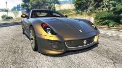 Ferrari 599 GTO for GTA 5