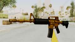 M4A1 Gold for GTA San Andreas