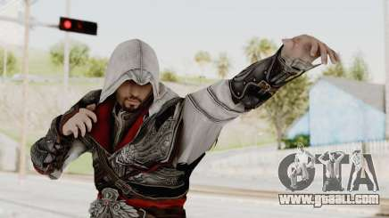 AC Brotherhood - Ezio Auditore Seusenhofer Armor for GTA San Andreas