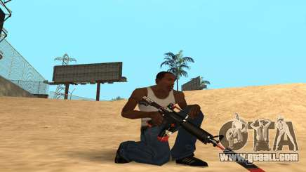 M4 Cyrex for GTA San Andreas
