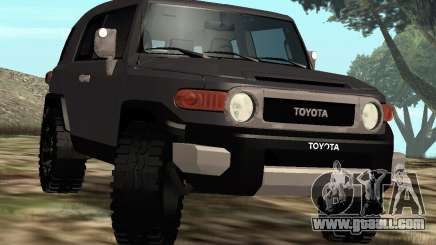 Toyota FJ Cruiser for GTA San Andreas