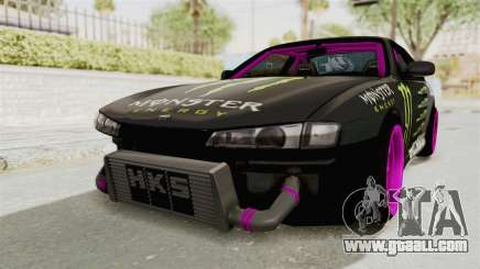 Nissan Silvia S14 Drift Monster Energy Falken for GTA San Andreas