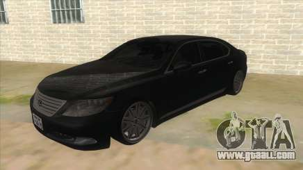 Lexus LS600HL 2008 for GTA San Andreas
