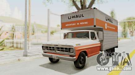 Ford F-350 U-Haul 1971 for GTA San Andreas