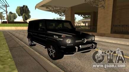 Mercedes G63 Biturbo for GTA San Andreas