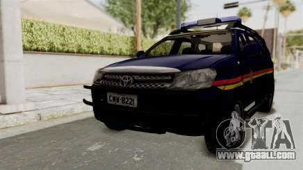 Toyota Fortuner JPJ Dark Blue for GTA San Andreas