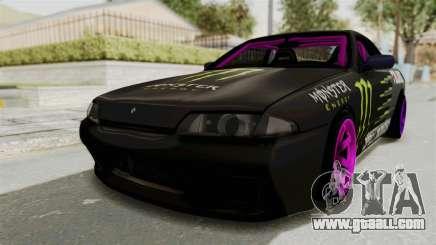 Nissan Skyline R32 Drift Monster Energy Falken for GTA San Andreas