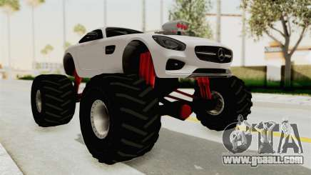 Mercedes-Benz AMG GT 2016 Monster Truck for GTA San Andreas