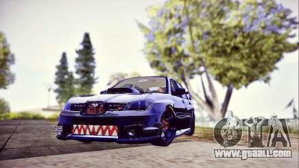 Subaru Impreza WRX STI Dark Knight for GTA San Andreas