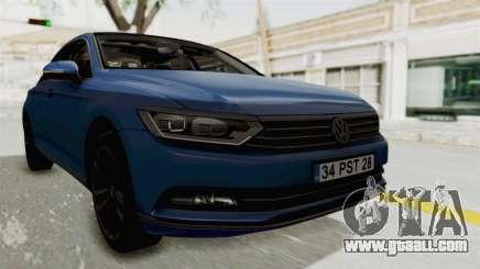 Volkswagen Passat B8 2016 Highline IVF for GTA San Andreas