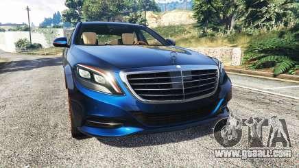 Mercedes-Benz S500 (W222) [yokohama] v2.1 for GTA 5