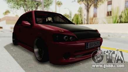 Peugeot 106 V2 RWD Greek Style for GTA San Andreas