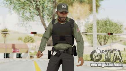 GTA 5 Security Man for GTA San Andreas