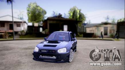 Subaru impreza WRX STi LP400 v2 for GTA San Andreas