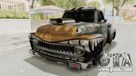 GTA 5 Slamvan Race PJ2 for GTA San Andreas