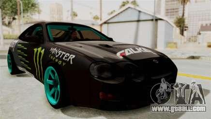 Toyota Celica GT Drift Monster Energy Falken for GTA San Andreas