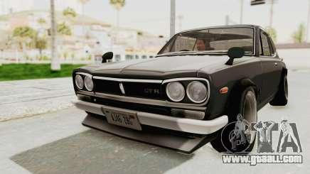 Nissan Skyline KPGC10 1971 Camber for GTA San Andreas