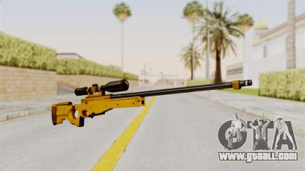 L96A1 Gold for GTA San Andreas