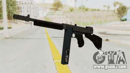 GTA 5 Gusenberg Sweeper Custom for GTA San Andreas