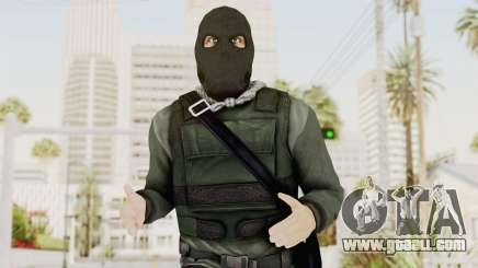 Battlefield 3 Bandit for GTA San Andreas