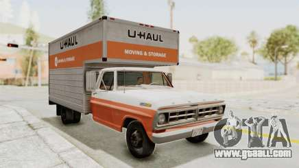 Ford F-350 U-Haul 1971 IVF for GTA San Andreas