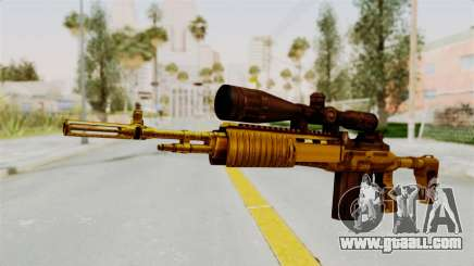 M14EBR Gold for GTA San Andreas