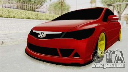 Honda Civic FD6 for GTA San Andreas