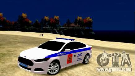 Ford Mondeo Russian Police for GTA 4