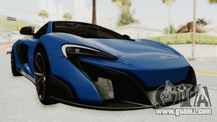 McLaren 675LT Coupe v1.0 for GTA San Andreas
