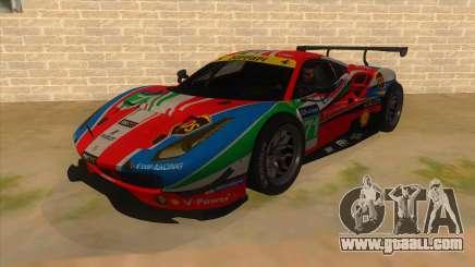 2016 Ferrari 488 GTE for GTA San Andreas