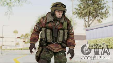 Battery Online Russian Soldier 9 v1 for GTA San Andreas