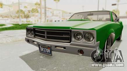 GTA 5 Declasse Sabre GT2 for GTA San Andreas