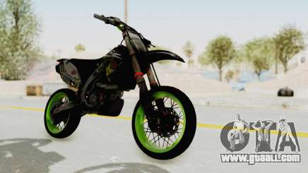 Kawasaki KX 125 Supermoto for GTA San Andreas