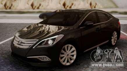 Hyundai Grandeur 2015 STOCK for GTA San Andreas
