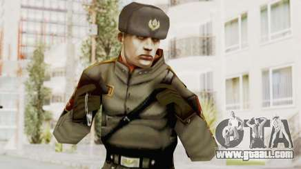 Russian Solider 1 from Freedom Fighters for GTA San Andreas