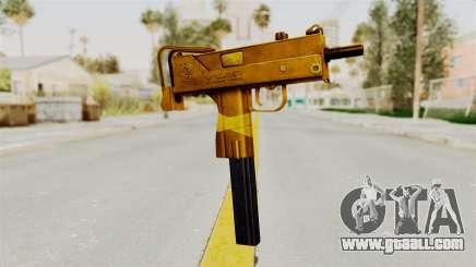 MAC-10 Gold for GTA San Andreas