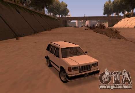 Landstalker SRT8 for GTA San Andreas
