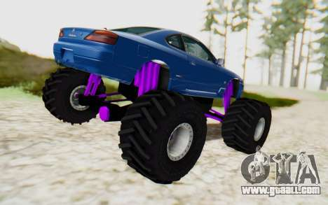 Nissan Silvia S15 Monster Truck for GTA San Andreas left view