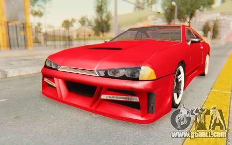 Elegy GT v1 for GTA San Andreas back left view