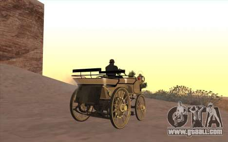 Mercedes-Benz Daimler 1886 for GTA San Andreas left view